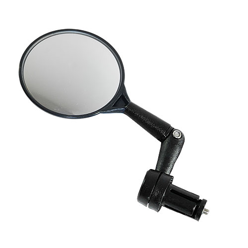 Round Bicycle Bar End Mirror