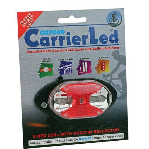 Oxford Carrier/Rack LED Rear Light
