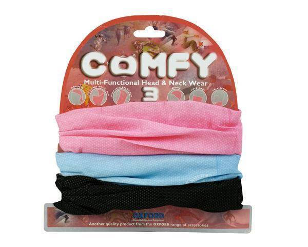 Oxford Comfy Neckwarmer Girlie Set of 3