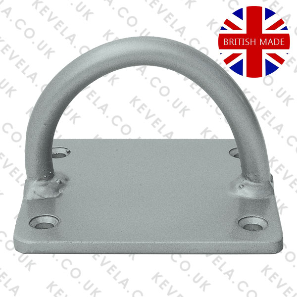 Heavy Duty Lock Loop Silver