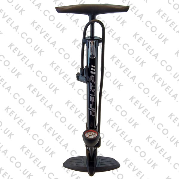 Floor Track Pump with Gauge