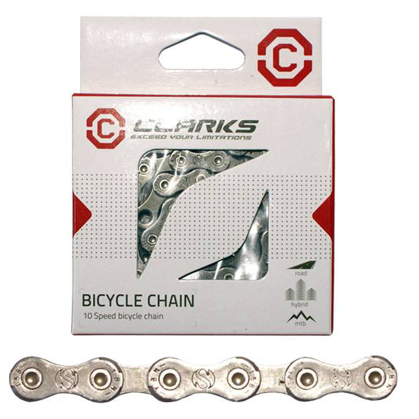 Clarks 10 Speed Chain 3/32 116 Links