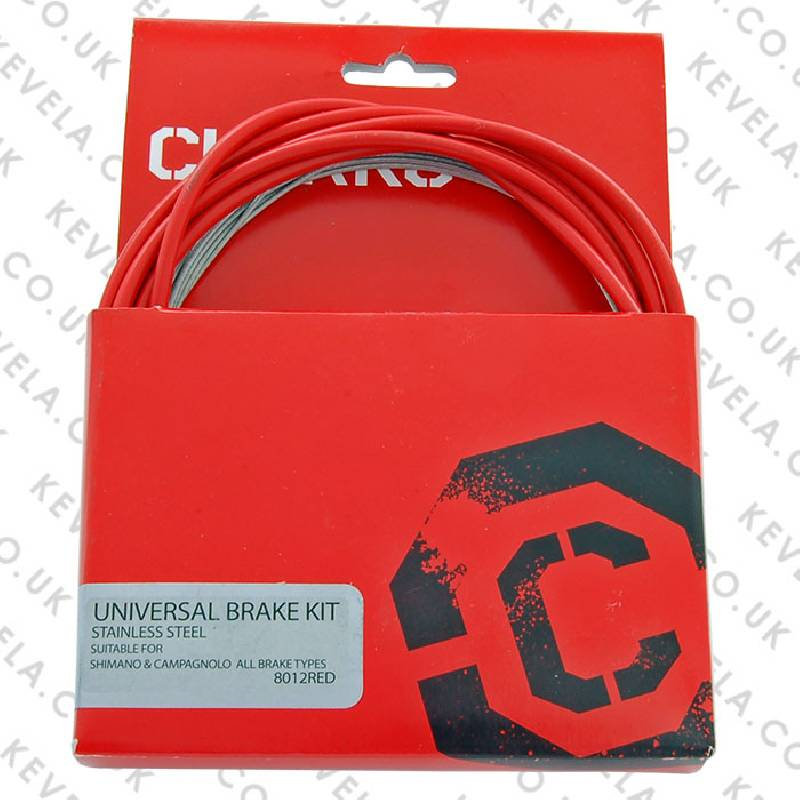 Clarks Universal Brake Cable Kit - Red-product-images/thumb_100/527_1373647806.jpg