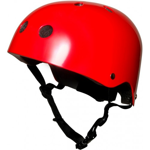 KiddiMoto Child Cycle Helmet Metalic Red 53-58cm