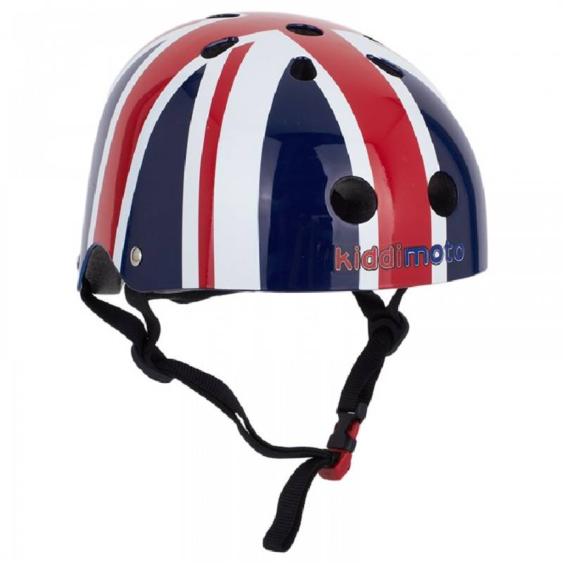 Kiddimoto Union Jack Kids Bicycle Helmet Ages 2-5 years and 5+