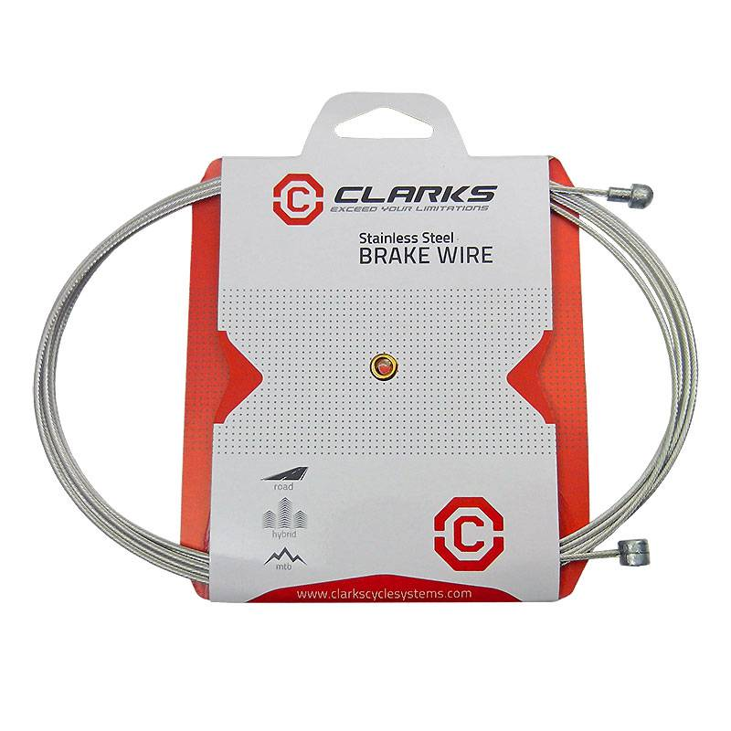 Clarks Tandem Brake Cable (3m) Stainless Steel