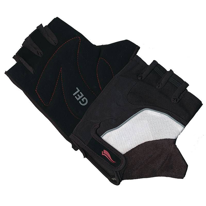 Cycling Mitts Black-White Large
