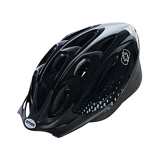 Cycling Helmet -  Black / White (58-61cm)