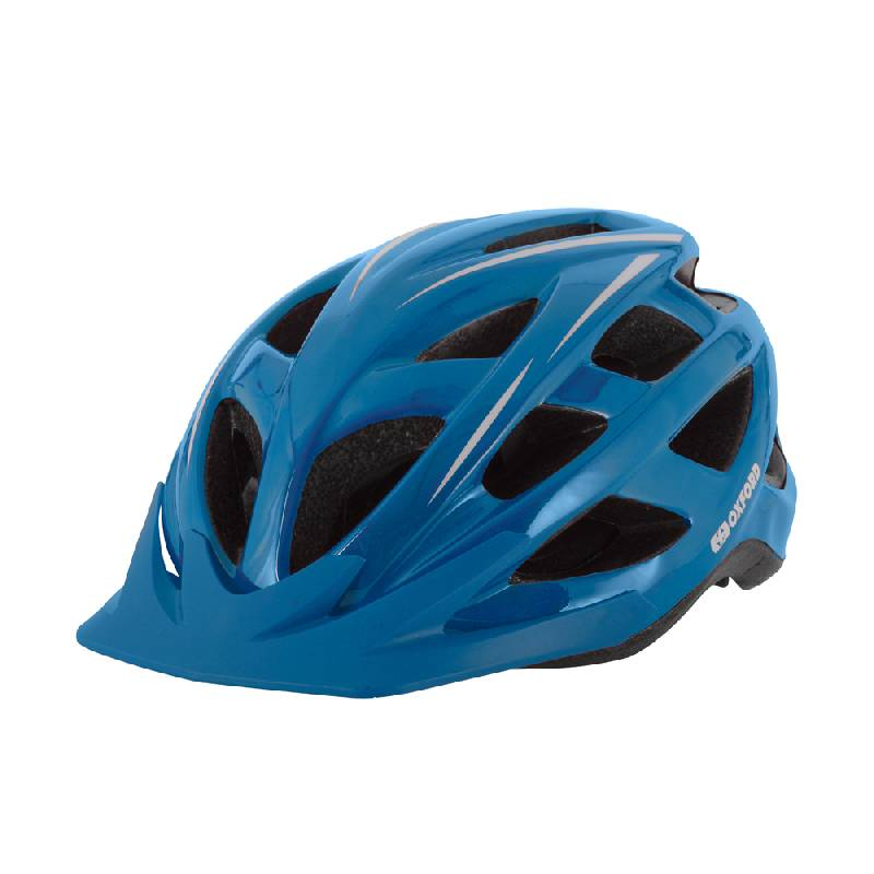 Talon Blue Cycling Helmet - Medium (54-58cm)