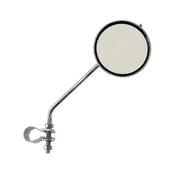 Round Bicycle Mirror 3 Inch - 210mm Long