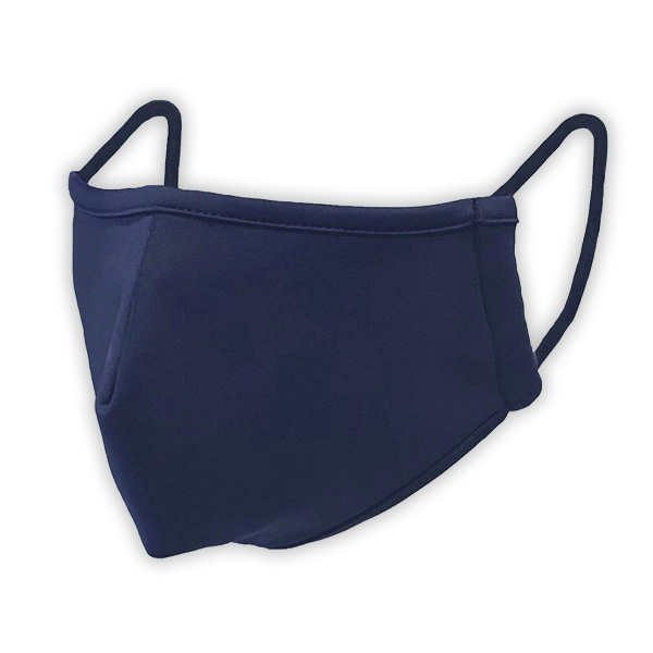 Nanotech 3 Layer Mask - Navy Large