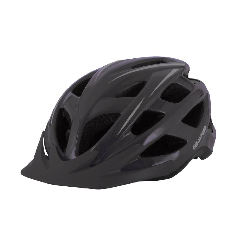 Talon Black Cycling Helmet - Large (58-62cm)