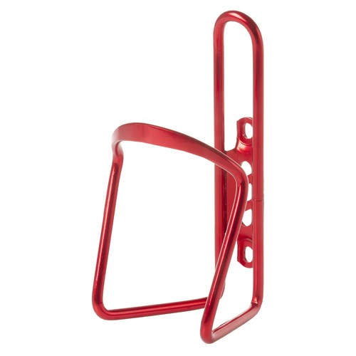 Alloy Water Bottle Cage - Red